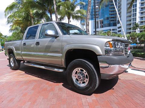 2002 GMC Sierra 2500HD for sale in Fort Lauderdale, FL