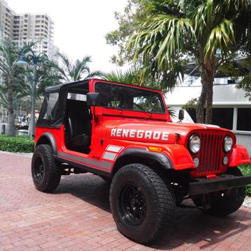 1983 Jeep CJ-7 for sale in Fort Lauderdale, FL