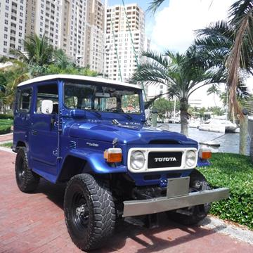 1985 Toyota Land Cruiser for sale in Fort Lauderdale, FL