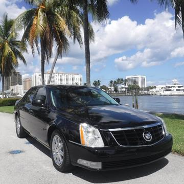 2011 Cadillac DTS for sale in Fort Lauderdale, FL