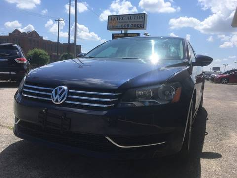 2012 Volkswagen Passat for sale in Oklahoma City, OK