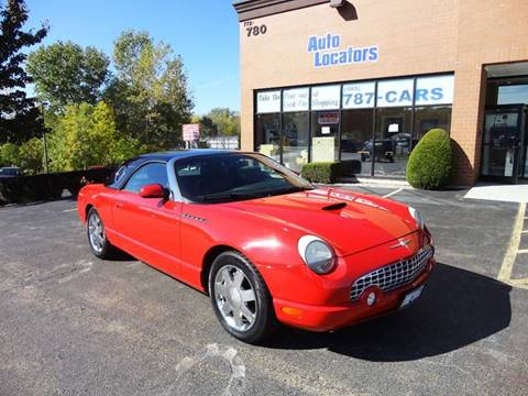 2002 Ford Thunderbird for sale in Webster, NY