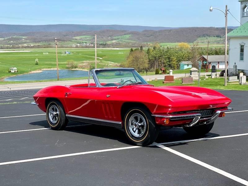 Corvette For Sale >> 1966 Chevrolet Corvette In Bedford Pa Valley Auto Corvette Sales