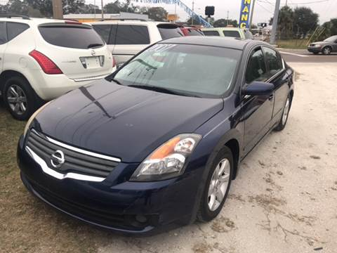 2007 Nissan Altima for sale at SKYLINE AUTO SALES LLC in Winter Haven FL