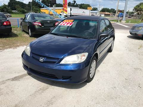 2004 Honda Civic for sale at SKYLINE AUTO SALES LLC in Winter Haven FL