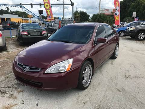 2005 Honda Accord for sale at SKYLINE AUTO SALES LLC in Winter Haven FL