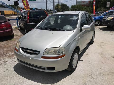2005 Chevrolet Aveo for sale at SKYLINE AUTO SALES LLC in Winter Haven FL