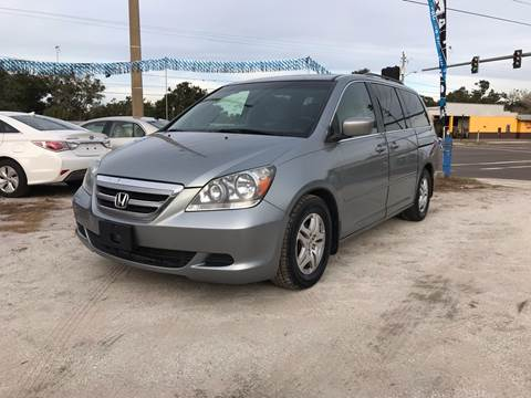 2007 Honda Odyssey for sale at SKYLINE AUTO SALES LLC in Winter Haven FL
