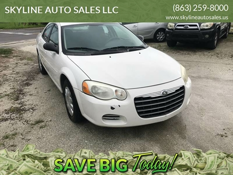 2005 Chrysler Sebring for sale at SKYLINE AUTO SALES LLC in Winter Haven FL