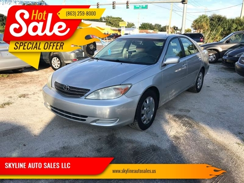 Lovely 2004 Toyota Camry For Sale In Winter Haven, FL