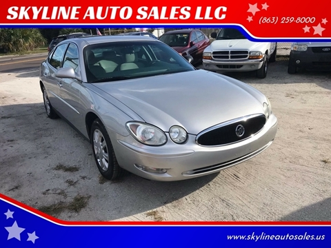 2006 Buick LaCrosse for sale at SKYLINE AUTO SALES LLC in Winter Haven FL