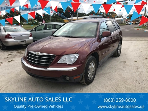 2007 Chrysler Pacifica for sale at SKYLINE AUTO SALES LLC in Winter Haven FL