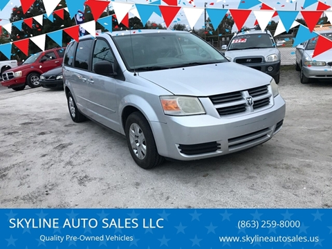 2010 Dodge Grand Caravan for sale at SKYLINE AUTO SALES LLC in Winter Haven FL