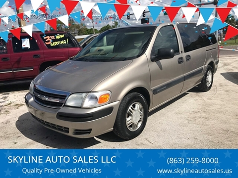 2003 Chevrolet Venture for sale at SKYLINE AUTO SALES LLC in Winter Haven FL