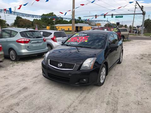 2010 Nissan Sentra for sale at SKYLINE AUTO SALES LLC in Winter Haven FL