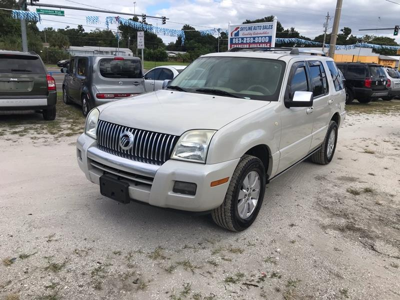 2006 Mercury Mountaineer for sale at SKYLINE AUTO SALES LLC in Winter Haven FL