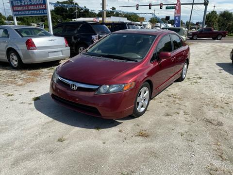 2007 Honda Civic for sale at SKYLINE AUTO SALES LLC in Winter Haven FL