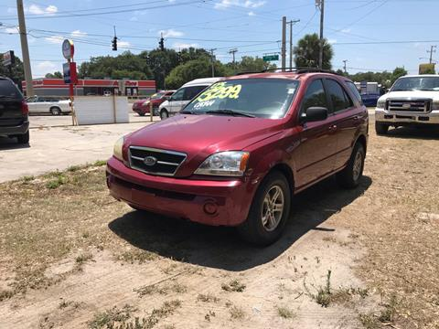 2003 Kia Sorento for sale at SKYLINE AUTO SALES LLC in Winter Haven FL
