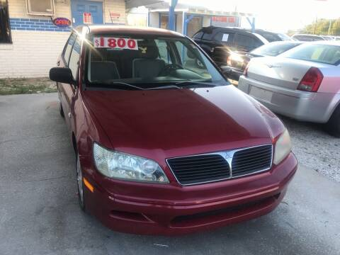 2003 Mitsubishi Lancer for sale at SKYLINE AUTO SALES LLC in Winter Haven FL