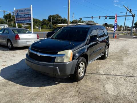 2005 Chevrolet Equinox for sale at SKYLINE AUTO SALES LLC in Winter Haven FL