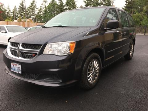 Minivans For Sale >> 2014 Dodge Grand Caravan For Sale In Lakewood Wa