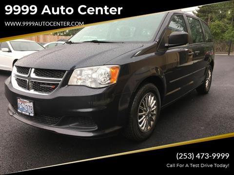 Minivan For Sale >> 2014 Dodge Grand Caravan For Sale In Lakewood Wa
