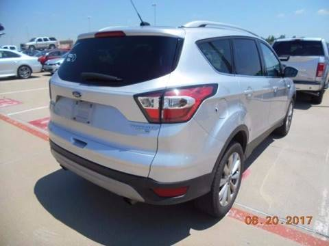 2017 Ford Escape for sale in Lancaster, TX