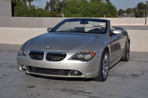 2004 BMW 6 Series for sale in Orange, CA