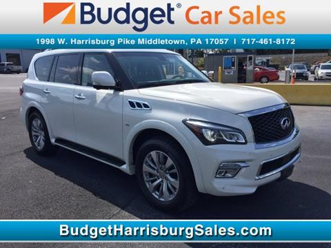 2017 Infiniti QX80 for sale in Middletown, PA