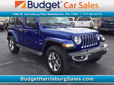 2019 Jeep Wrangler Unlimited for sale in Middletown, PA