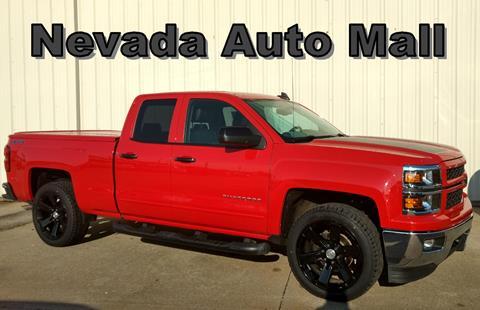 2015 Chevrolet Silverado 1500 for sale in Nevada, MO