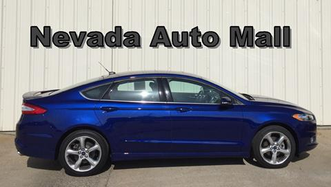 2014 Ford Fusion for sale in Nevada MO