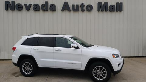 2015 Jeep Grand Cherokee for sale in Nevada MO