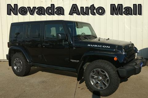 2015 Jeep Wrangler Unlimited for sale in Nevada MO