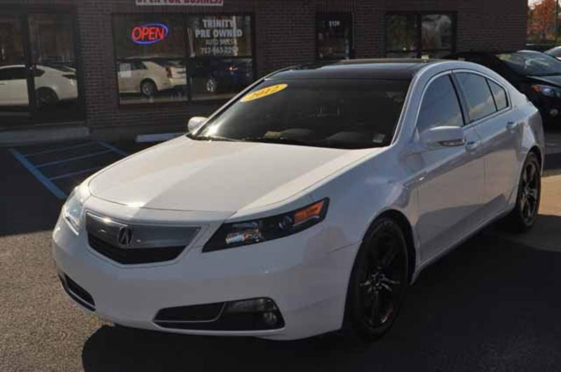 Acura TL SHAWD WTech In Norfolk VA Bankruptcy Car Financing - Acura tl awd for sale