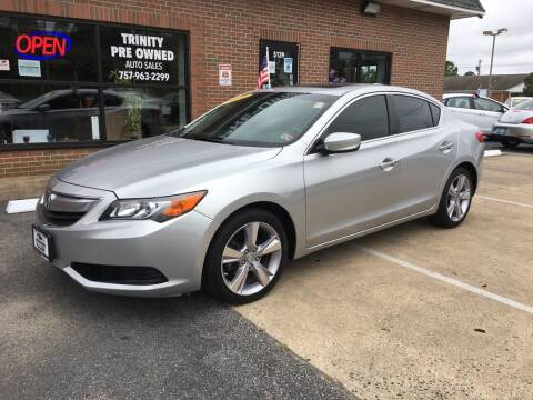 2014 Acura ILX for sale at Bankruptcy Car Financing in Norfolk VA