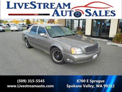 2002 Cadillac DeVille for sale in Spokane Valley, WA