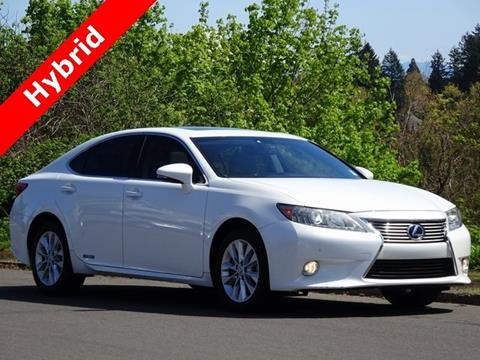 2013 Lexus ES 300h for sale in Portland, OR