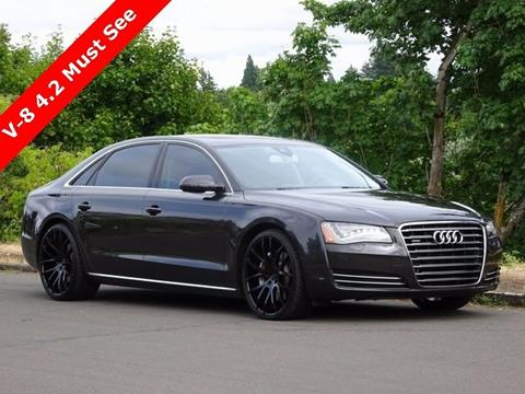 2012 Audi A8 L for sale in Portland, OR
