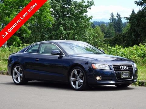 2009 Audi A5 for sale in Portland, OR