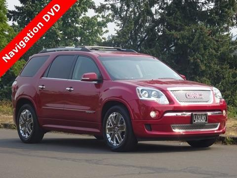 2012 GMC Acadia for sale in Portland, OR