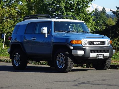 2012 Toyota FJ Cruiser for sale in Portland, OR