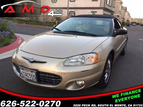 2001 Chrysler Sebring for sale in El Monte, CA