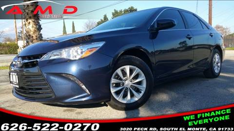 2015 Toyota Camry for sale at AMD 4 Auto Used Cars & Auto Broker in El Monte CA