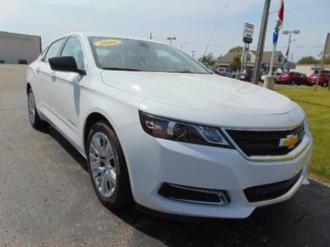 2016 Chevrolet Impala for sale in Sturgis MI