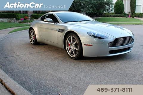 2007 Aston Martin V8 Vantage for sale in Dallas, TX