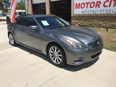 2011 Infiniti G37 Convertible for sale in Deland, FL