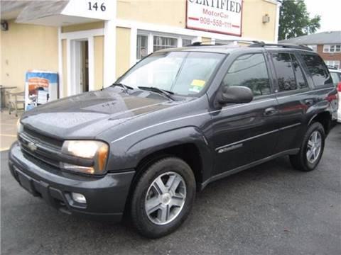 2004 Chevrolet TrailBlazer for sale in Roselle Park, NJ