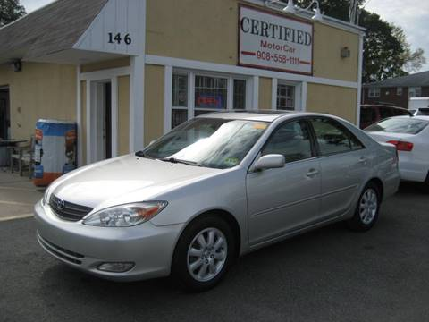 2003 Toyota Camry for sale in Roselle Park, NJ