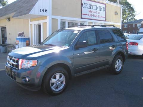 2012 Ford Escape for sale at CERTIFIED MOTORCAR LLC in Roselle Park NJ